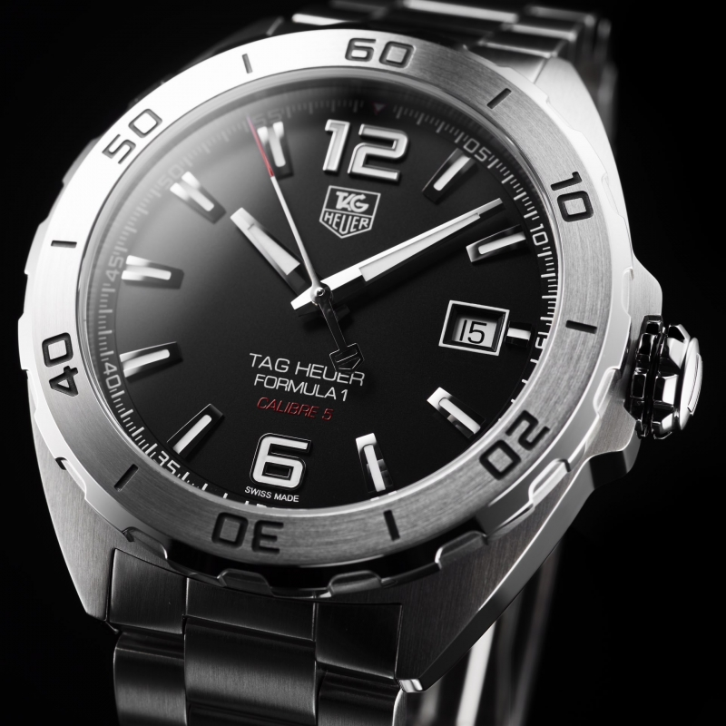 5a3e10f8576f TAG HEUER WATCHES FORMULA 1 CALIBRE 5 WAZ2113.BA0875