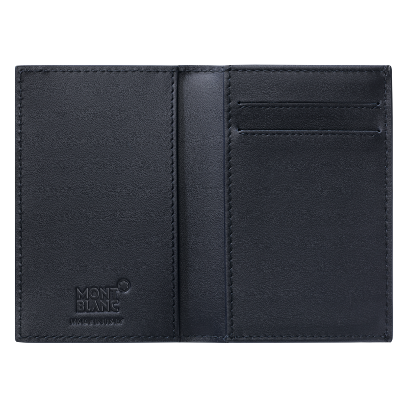 MONTBLANC LEATHER BUSINESS CARD HOLDER EXTREME 116366