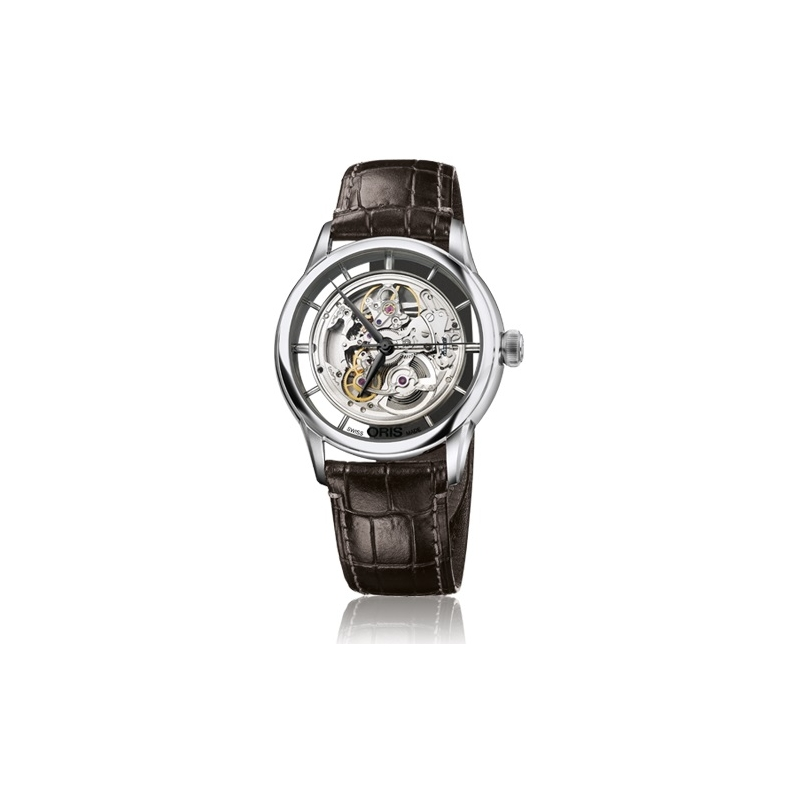 skeleton en oris translucent watches artelier