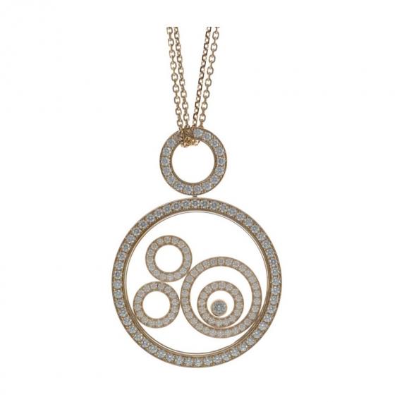 Chopard jewelry brands happy spirit earrings 845405 1001 mozeypictures Gallery