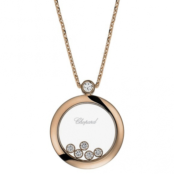 Chopard jewelry brands happy diamonds necklace 799434 5001 happy diamonds necklace aloadofball