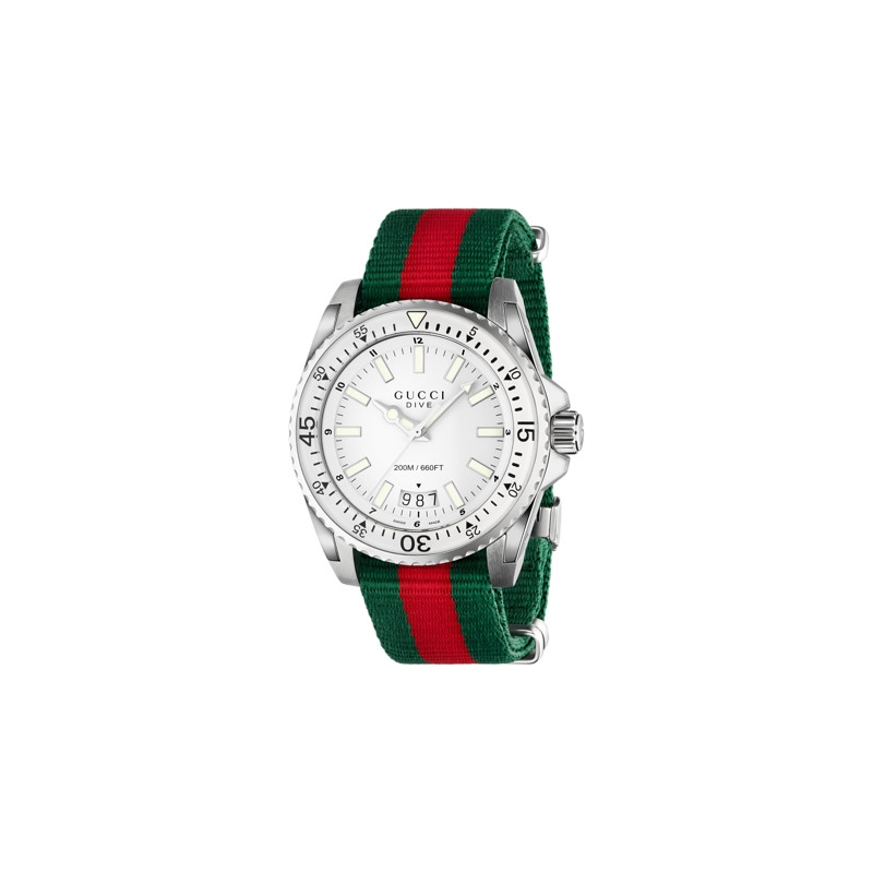 127708200c RELOJES GUCCI DIVE QUARTZ XL YA136207